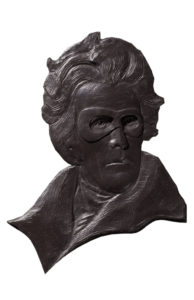 """Dana Younger's """"Legends of the Lone Ranger Part I: Andrew Jackson and the Indian Removal Legislation"""" is a feature of the exhibition """"State of the Union,"""" showing Oct. 4 though Nov. 5 in The Cole Art Center @ The Old Opera House."""