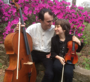 "Dr. Evgeni Raychev, cello instructor in the SFA School of Music, will perform with his son, Jonah, in a recital titled ""Musical Foray"" at 7:30 p.m. Thursday, March 23, in Cole Concert Hall."