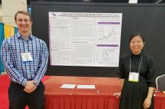 "Stephen F. Austin State University's Dr. Daniel McCleary, assistant professor of human services, and Juan Chen, an SFA doctoral student from Shanghai, China, presented a poster at the National Association of School Psychologists Conference in San Antonio. The study was titled ""Building math fact fluency in China through adapted cover-copy-compare."""
