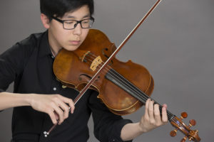 Yong-Ha Jung, a junior at Flower Mound High School and the first-place winner of the 2017 Schmidbauer Young Artist Competition at SFA, will be a featured soloist when the Orchestra of the Pines performs at 7:30 p.m. Monday, April 24, in Cole Concert Hall on the SFA campus.