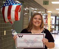 Lannette Burlingame, a Stephen F. Austin State University special education graduate student and Whitehouse ISD educator, was named an Innovator of the Year for Whitehouse ISD.