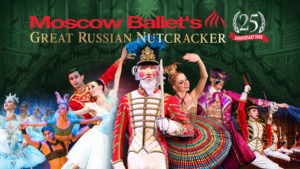 The SFA College of Fine Arts will present an Encore Event on Nov. 16 and 17 featuring the 25th Anniversary Tour of the Moscow Ballet's Great Russian Nutcracker.