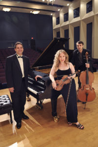 SFA's Alazan Trio will perform at 7:30 p.m. Friday, Sept. 8, in Cole Concert Hall on the SFA campus.