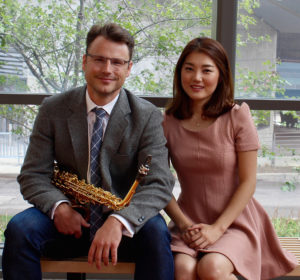 SFA's Nathan Nabb, professor of saxophone and, Hyun Ji Oh, collaborative pianist, will present a works for saxophone and piano at 7:30 p.m. Thursday, Sept. 28, in Cole Concert Hall on the SFA campus.