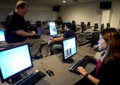 Stephen F. Austin State University's College of Sciences and Mathematics recently received approval to offer a new Master of Science in cybersecurity. Professors in the Department of Computer Science are busy planning to launch the program's core courses in spring 2018.
