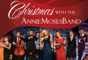 """Celebrate the season and spend """"Christmas with the Annie Moses Band,"""" an SFA University Series event at 7:30 p.m. Tuesday, Dec. 12, in W.M. Turner Auditorium."""