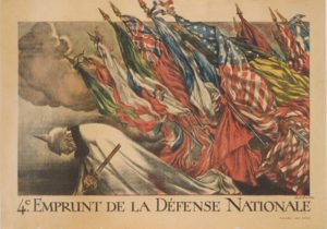"""""""The Patriotic Art of World War I in France"""" will be exhibited Oct. 31 through Dec. 30 in The Cole Art Center @ The Old Opera House."""