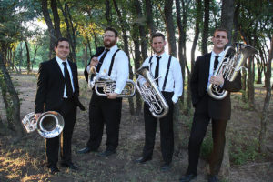 The North Texas Euphonium Quartet will perform at 7:30 p.m. Saturday, Feb. 10, in Cole Concert Hall on the SFA campus.